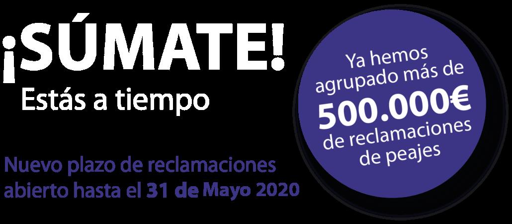 Plazo hasta el 31 de Mayo 2020
